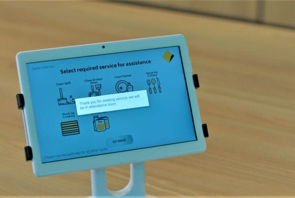 Image showing Customer Experience Kiosk